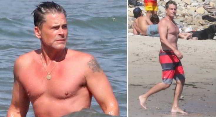 Rob Lowe Mostra Il Fisico Da Spiaggia A 57 Anni